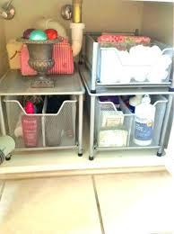 bathroom under cabinet storage kitchen sink the organization ideas organizers o