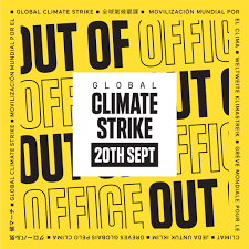 Global Climate Strike Tell The World Youre Out Of Office