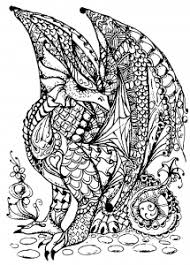 This series of free printable coloring pages is dedicated to the most mysterious of creatures, which may or may not have wandered the earth in the past. Dragons Coloring Pages For Adults