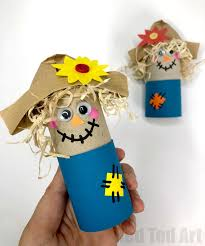 Preschool toilet Restroom Family Easy Toilet Paper Roll Scarecrow For Preschool Fun With Toilet Paper Rolls For Harvest Festival Catch My Party Easy Toilet Paper Roll Scarecrow For Preschool Red Ted Arts Blog