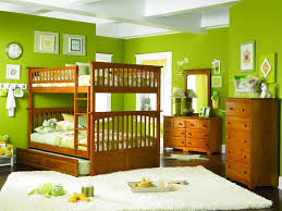 Painting For Kid Bedrooms Minimalist Bedroom Ideas With Green Wall Painted And White Bed