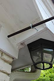 porch curtain rod