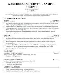 Warehouse Associate Resume Sample Best Ideas Of Example Of A