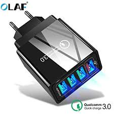 <b>OLAF</b> 3.1A 4 Port USB <b>Charger Quick Charge</b> 3.0 for: Amazon.in ...