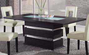 dining room table glass inlay. modern dining room table,modern table,brown contemporary pedestal table with glass inlay n