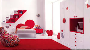 Magnificent Red And White Bedroom Furniture Intended Design Black ...