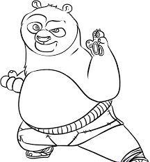 Small Picture Coloring Pages Draw A Cartoon Panda Baby Panda Cartoon Coloring