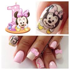 Pin by Shawna Holt on Nail Art | Minnie mouse nail art, Festival nails,  Minnie mouse nails