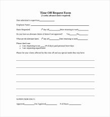 pto request template pto request form template lovely leave application form for office