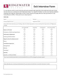 Employee Exit Interview Checklist Lovely Employment Separation Form Template Inspirational Employee
