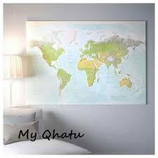 ikea bjorksta picture planet earth map