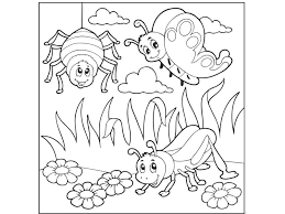 Small Picture coloring pages bugs funnycrafts