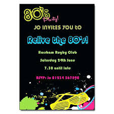 80s party invitations birthday invitations s party invitation 80s birthday party invitation wording