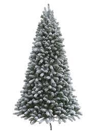 Flocked Christmas Tree 75 Foot King Flock Artificial Christmas Tree Unlit King Of