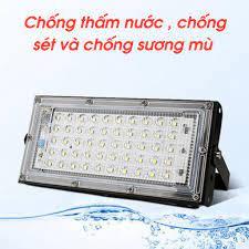 Đèn Led Pha, Đèn Pha Led Ngoài Trời Siêu Sáng, Chống Nước, Tiết Kiệm Điện  PAPAA.HOME - Bóng đèn Nhãn hàng No brand