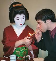 analyzing sayuri s sense of triumph throughout arthur golden s  a geiko entertaining a guest in gion kyoto