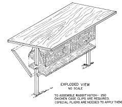 rabbit house plans. Basic Rabbit Hutch Plans House