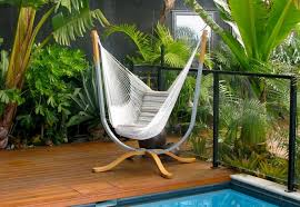 contemporary hammock chair stand designs on a budget