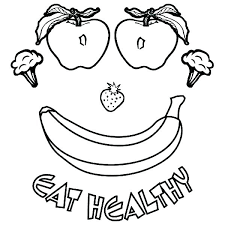Healthy Food Coloring Sheets Food Coloring Pages Food Coloring For
