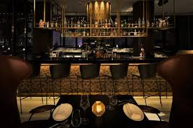 lighting for a bar. Overlooking Dubai\u0027s Exquisite Marina, Rüya Is A Restaurant And Bar Located  Within The Grosvenor House Hotel, Luxury Collection Hotel In Dubai. Lighting For