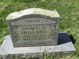 Thomas Daniel Holland (1915-1950) - Find A Grave Memorial