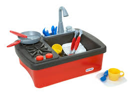 Little Tikes Outdoor Kitchen Little Tikes Splish Splash Sink Stove Toys Games Pretend