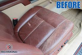 2016 2016 ford f 250 king ranch leather seat cover passenger bottom king ranch