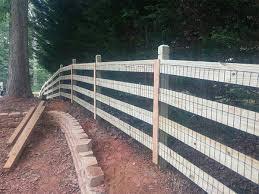 wood farm fence. Farm Fencing Wood Fence