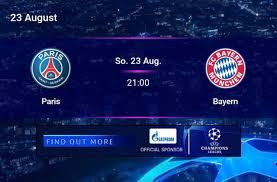 Amazon: Champions League Finale Bayern ./. Paris Saint-Germain PSG live &  kostenlos