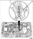 Где номер двигателя у опель астра