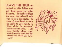 Social Rue sold And The From Estate With Rue's Of Pamphlet Stub '48 Card Mid '50s Original – Security