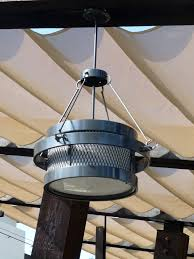 bourbon steak outdoor restaurant light fixture in scottsdale az