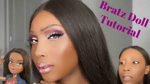 bratz doll makeup tutorial