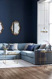 Cool Living Room Painting Dining Room Combo Models Blue Wall Color ...