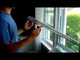 How To Tilt In Window For Cleaning - YouTube