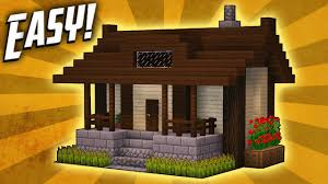 Minecraft Building Designs Step By Step Minecraft How To Build A Small Survival House Tutorial 5