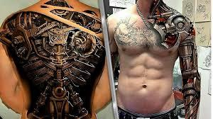 невероятные 3d татуировки вы должны это видеть