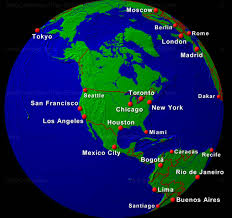 United States Map Of The World Usa Globe Map