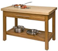 Metal Kitchen Island Tables Unfinished Teak Wood Kitchen Island Table Stand With Storage And