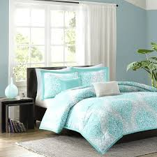 navy twin comforter light blue bedding sets with hairball twin full queen king size 3 inside