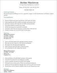 Linguist Resume Sample 127ea5e7b3c6 Anyett