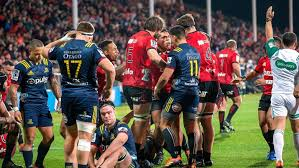 liam squire s yellow card proves costly as clinical crusaders eliminate highlanders
