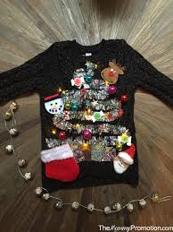 DIY Ugly Cute Christmas Sweater U2013 For Kids U2013 The Mommy PromotionUgly Christmas Sweater Craft Ideas