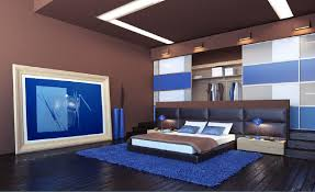 japanese bedroom furniture. Inspired Japanese Bedroom Interior Design Style With Low Bed Furniture Above Blue Fur Rug Also Sliding Door Built In As Wardrobe