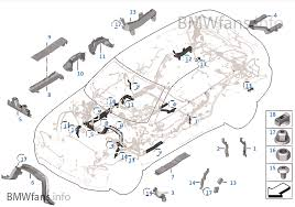 wiring harness covers cable ducts bmw x5 f15 x5 35i n55 usa wiring harness covers cable ducts