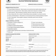 Business Collaboration Agreement Template Save Sample Business ...
