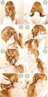 účesy Pro Kratší Vlasy Návod