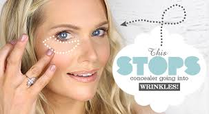 this stops concealer going into wrinkles