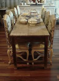 ... Dining Tables, Breathtaking Brown Rectangle Rustic Wooden Skinny Dining  Table Stained Ideas: Attractive skinny ...