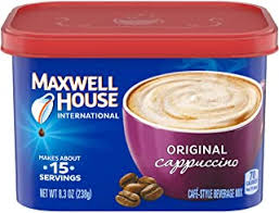 It was better in the metal cans but i feel the extended uses of the empty plastic tins it comes in now makes it worth the price. Amazon Com General Foods International Coffee